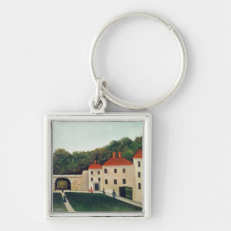Landscape with an Arch and Three Houses, 1907 (oil Keychain