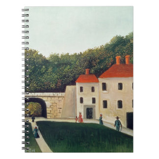 Landscape with an Arch and Three Houses, 1907 (oil Notebook