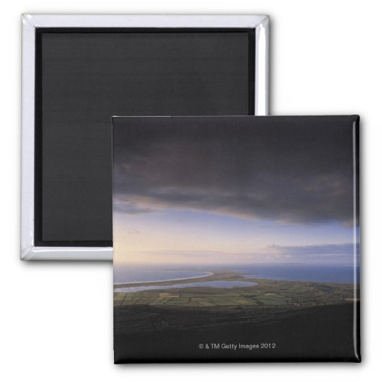 landscape with an overcast sky magnet