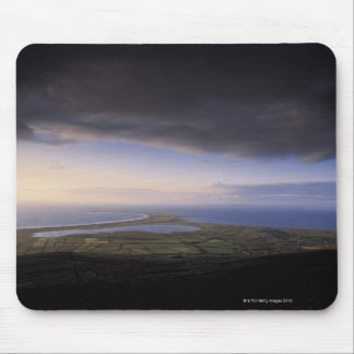 landscape with an overcast sky mouse pad