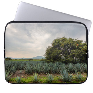 Landscape With Blue Agave Laptop Sleeves