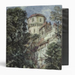 Landscape, with Castle and Trees 3 Ring Binders