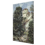 Landscape, with Castle and Trees Gallery Wrap Canvas