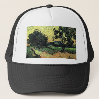 Landscape with Chateau of Auvers Trucker Hat
