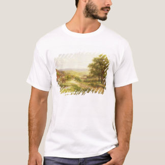 Landscape with Children by a Pond, 1884 T-Shirt