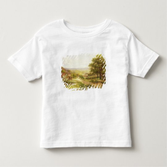 Landscape with Children by a Pond, 1884 Toddler T-shirt