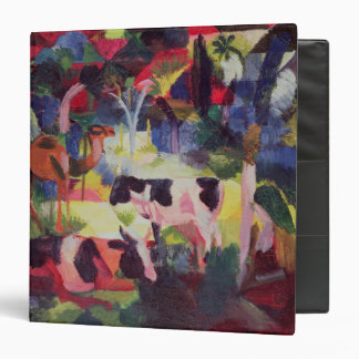 Landscape with Cows and a Camel 3 Ring Binder