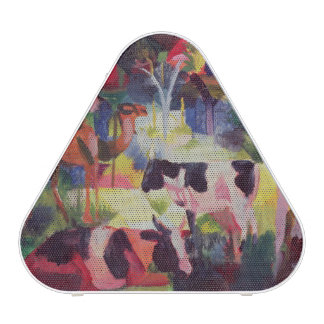 Landscape with Cows and a Camel Bluetooth Speaker