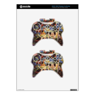 Landscape with Cows and a Camel by August Macke Xbox 360 Controller Skin