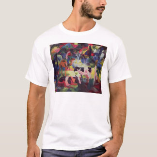 Landscape with Cows and a Camel T-Shirt