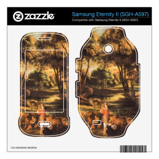 Landscape with cows and duck hunters by Rubens Samsung Eternity II Decal
