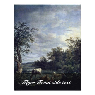 Landscape With Cows By Wagenbauer Max Joseph (Best Personalized Flyer