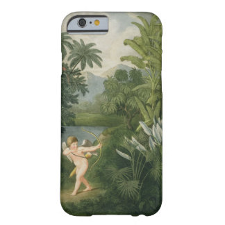 Landscape with Cupid aiming an arrow at a Parrot o Barely There iPhone 6 Case