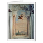 Landscape with Cupid, from the 'Foresteria' (Guest Cards