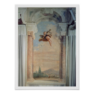 Landscape with Cupid, from the 'Foresteria' (Guest Poster