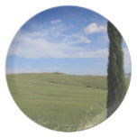 Landscape with Cypress Dinner Plate