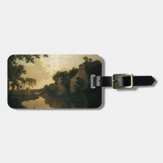 Landscape with Dale Abbey by Joseph Wright Tag For Bags