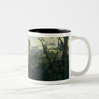 Landscape with Diogenes, 1648 Two-Tone Coffee Mug