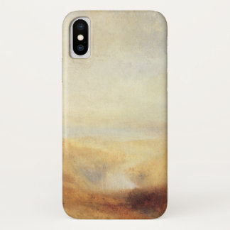 Landscape With Distant River Bay by Joseph Turner iPhone X Case