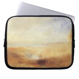 Landscape With Distant River Bay by Joseph Turner Laptop Sleeve