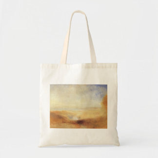 Landscape With Distant River Bay by Joseph Turner Tote Bag