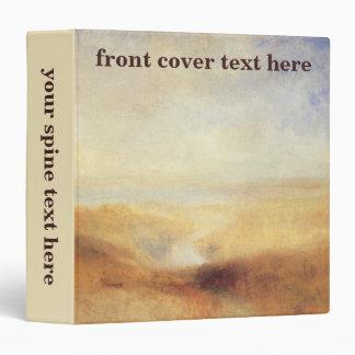 Landscape With Distant River Bay by Joseph Turner Vinyl Binder