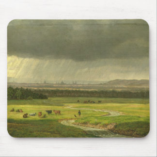 Landscape with Dresden in the Distance, 1830 Mouse Pad
