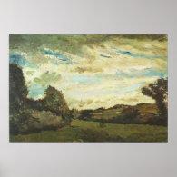Landscape with Dunes 1883  Vincent  van Gogh Poster