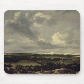 Landscape with Dunes near Haarlem (oil on canvas) Mouse Pad