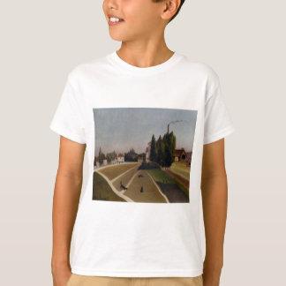 Landscape with Factory by Henri Rousseau T-Shirt
