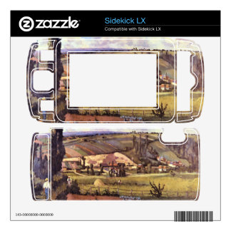 Landscape with Farm Houses by Camille Pissarro Sidekick LX Decals