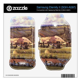 Landscape with Farm Houses by Camille Pissarro Samsung Eternity II Skins