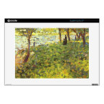 """Landscape with figures by Georges Seurat Skin For 15"""" Laptop"""