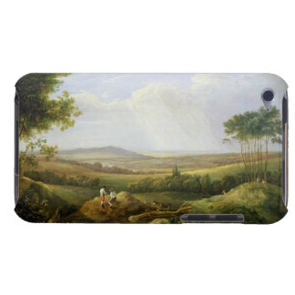 Landscape with Figures (oil on panel) iPod Touch Case