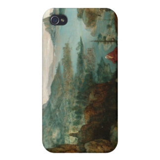 Landscape with Flight into Egypt - Pieter Bruegel Covers For iPhone 4