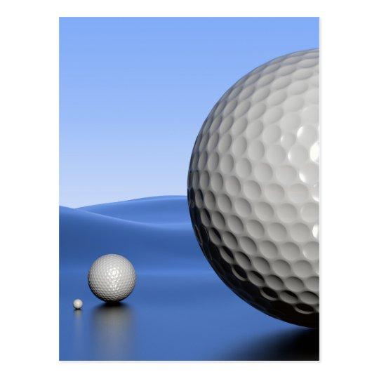 Landscape with Golf Balls Postcard