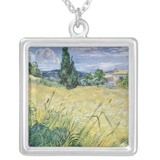 Landscape with Green Corn, 1889 Pendant