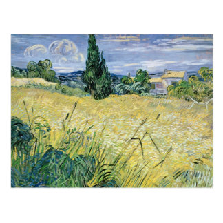 Landscape with Green Corn, 1889 Post Card