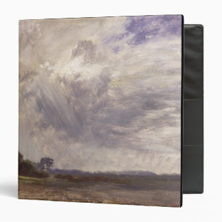 Landscape with Grey Windy Sky, c.1821-30 (oil on p 3 Ring Binder