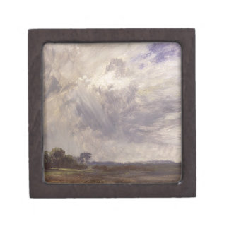 Landscape with Grey Windy Sky, c.1821-30 (oil on p Gift Box