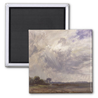 Landscape with Grey Windy Sky, c.1821-30 (oil on p Magnet