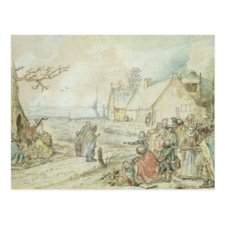Landscape with Gypsy Fortune-Tellers Postcard
