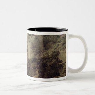 Landscape with Hercules and Cacus, c.1656 Mug