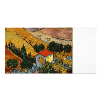 Landscape with House and Plough Picture Card