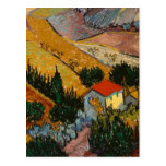Landscape with House and Plough Postcard