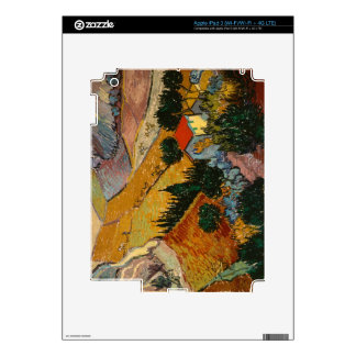 Landscape with House and Ploughman, 1889 iPad 3 Skins