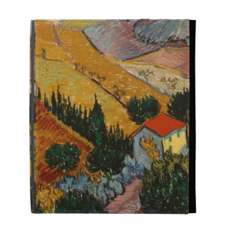 Landscape with House and Ploughman, 1889 iPad Cases