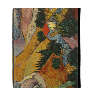 Landscape with House and Ploughman, 1889 iPad Folio Cases