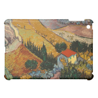 Landscape with House and Ploughman, 1889 iPad Mini Case