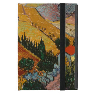 Landscape with House and Ploughman, 1889 iPad Mini Cover